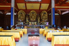 Buddhist Nanputuo temple in Xiamen, China Royalty Free Stock Photo