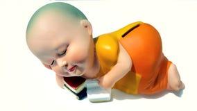 Buddhist novice doll Royalty Free Stock Image