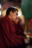 Buddhist novice, Ladakh Stock Photo