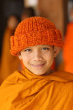 Buddhist novice in Luang Prabang, Laos. Stock Images