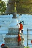 Buddhist novice Royalty Free Stock Images
