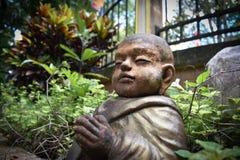 Buddhist Novice Stock Image