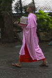 Buddhist nuns in Myanmar Royalty Free Stock Photo