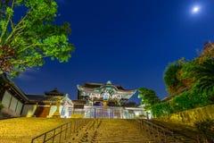 Buddhist Otani Hombyo temple in Kyoto Stock Image