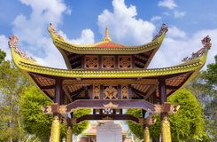 Buddhist pagoda within ben duoc scenic area south vietnam Stock Images