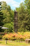 Buddhist pagoda. In the Botanical garden. Moscow Russia Royalty Free Stock Image