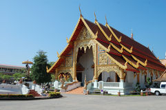 Buddhist pagoda in Chiang Mai, Thailand Royalty Free Stock Photography