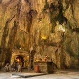 Buddhist pagoda in Huyen Khong cave Royalty Free Stock Images