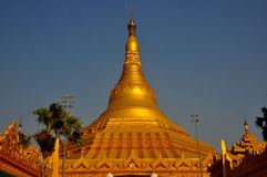Buddhist Pagoda in Mumbai Stock Photography