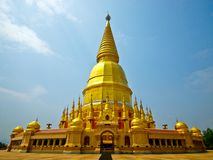 Buddhist pagoda,north of Thailand Stock Photo