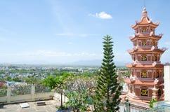 Buddhist temple in Vietnam Stock Photo