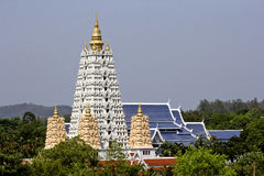 Buddhist pagoda in temple Royalty Free Stock Photography