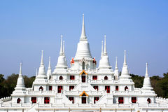 Buddhist pagoda in Thailand Royalty Free Stock Photo