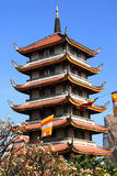 Buddhist pagoda Vinh Nghiem in Ho Chi Minh City (Saigon), Vietna. Buddhist pagoda Vinh Nghiem in Ho Chi Minh City, Vietnam Royalty Free Stock Image