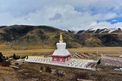 Buddhist pagodas. In ganzi,Tibet Royalty Free Stock Image