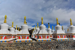 Buddhist pagodas Royalty Free Stock Photo