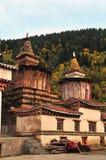 Buddhist pagodas Royalty Free Stock Images