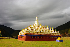 Buddhist pagodas Royalty Free Stock Image