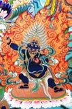 Buddhist painting artwork Stock Photos