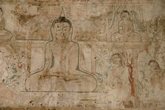 Buddhist paintings Stock Photography