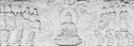 Buddhist Parables and Stories Royalty Free Stock Image