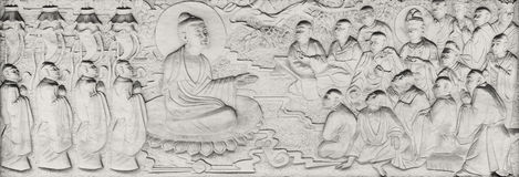 Buddhist Parables and Stories Royalty Free Stock Photography