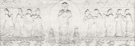 Buddhist Parables and Stories Royalty Free Stock Images