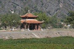 Buddhist pavilion - Ninh Binh - Vietnam Stock Image