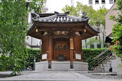 Buddhist pavillion. In the Rokkaku-do temple, Kyoto, Japan Stock Images