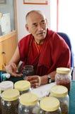 Buddhist pharmacist Royalty Free Stock Image