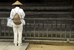 Buddhist pilgrim Japan Royalty Free Stock Images