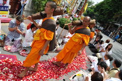 Buddhist Pilgrimage Royalty Free Stock Image