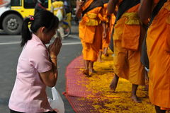 Buddhist Pilgrimage royalty free stock photo