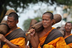 Buddhist Pilgrimage Stock Photo
