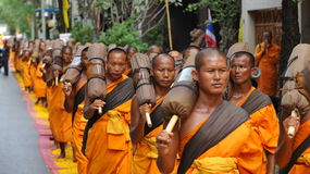 Buddhist Pilgrimage Stock Images