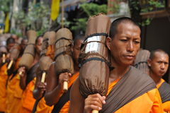 Buddhist Pilgrimage Royalty Free Stock Images