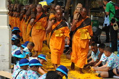 Buddhist Pilgrimage Royalty Free Stock Photos