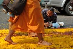 Buddhist Pilgrimage Stock Photo