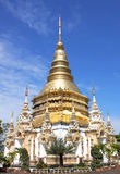 Buddhist places of worship Royalty Free Stock Images