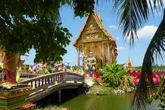 Buddhist Plai Laem temple at Samui island. Thailand Stock Photo