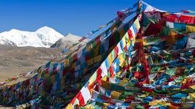 Buddhist pray flag Stock Images