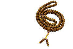 Buddhist Prayer beads Stock Images