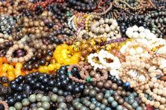 Buddhist Prayer Beads Stock Photo