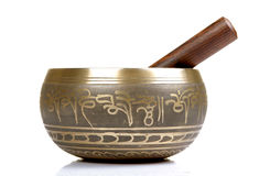 Buddhist prayer bowl Stock Photography