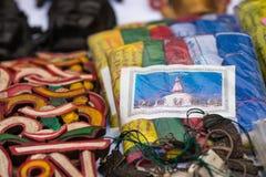 Buddhist prayer flag Stock Image