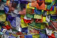 Buddhist prayer flags Stock Photography