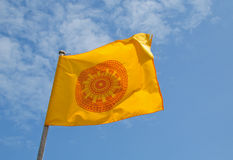 Buddhist prayer flags. Image of Buddhist prayer flags in thailand Stock Photo