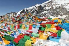 Buddhist prayer flags Royalty Free Stock Photography