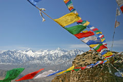 Free Buddhist Prayer Flags Royalty Free Stock Images - 6826629