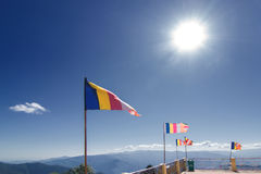 Buddhist prayer flags in Sikkim Royalty Free Stock Image